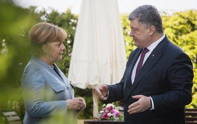 Встреча Меркель—  Порошенко: обозначим несколько позиций