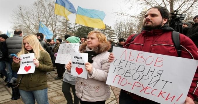 В Украине сегодня нетязыковой проблемы