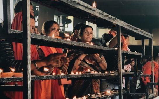 Храм Камакхья у місті Гувахаті, присвячений богині-матері