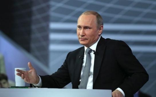 Новая афера так называемого президента Путина