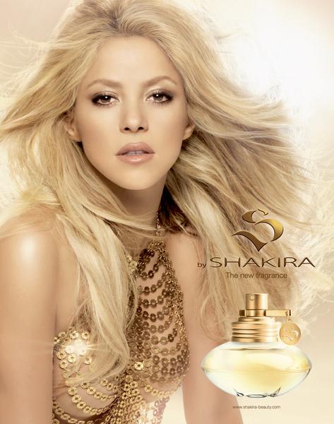 Шакира выпустила первый аромат