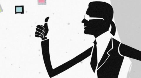 Карл Лагерфельд презентовал рекламный мультфильм