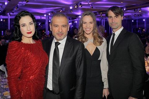 Мирослава Дума и другие гости парижского гала-ужина