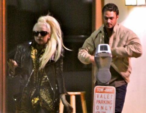 Леди Гага вернулась к бывшему возлюбленному