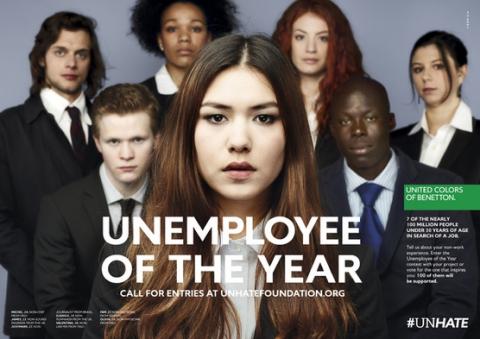 United Colors оf Benetton представляет кампанию «Безработный года»