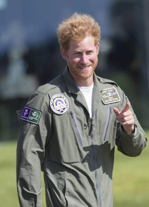 Брутальный мачо: принц Гарри отрастил бороду