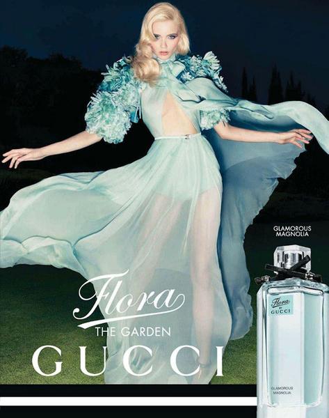 Представлена новая рекламная кампания Gucci Flora Garden Collection