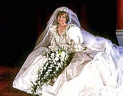 Свадебное платье принцессы Дианы будет продано с молотка