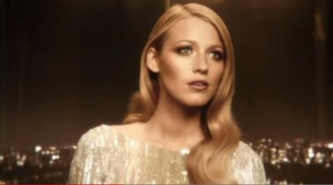Появился рекламный видеоролик нового аромата Gucci с Блейк Лайвли