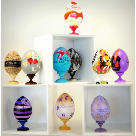 Дизайнерские пасхальные яйца в Mod Design