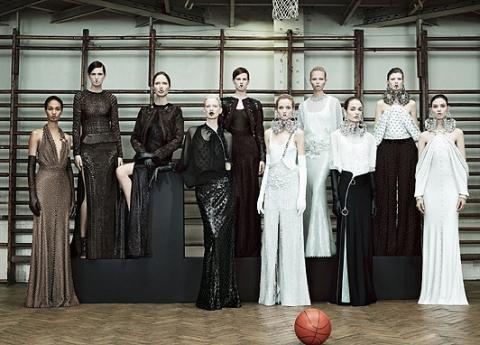 Риккардо Тиши представил новую коллекцию Givenchy