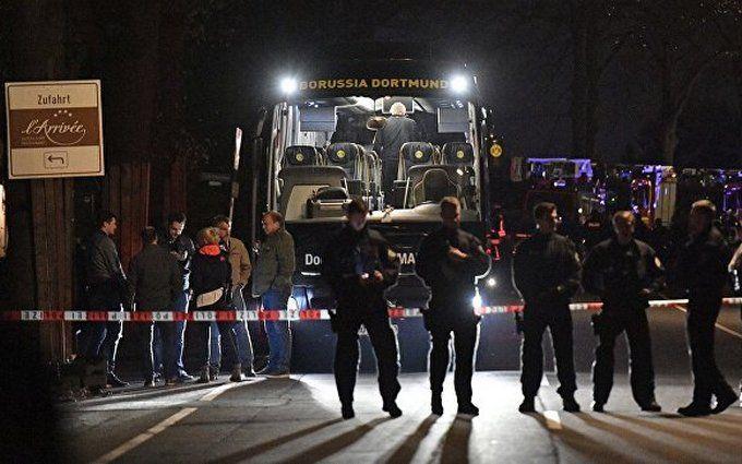 """Вибухи у автобуса дортмундської """"Боруссії"""": в Німеччині затримали підозрюваного росіянина"""