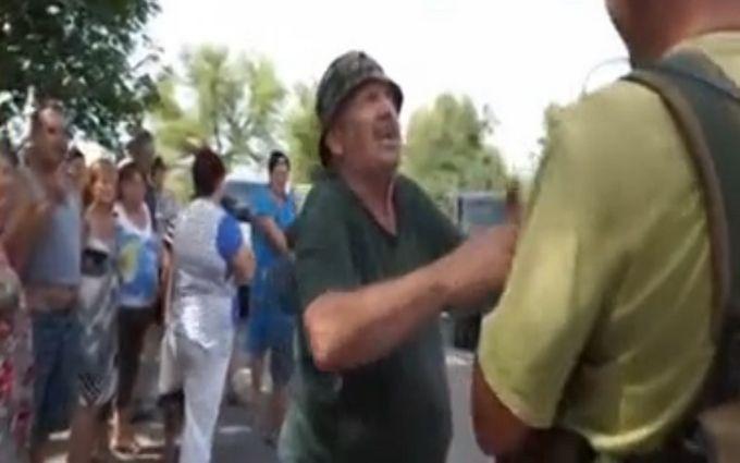 Ошукані пропагандою мешканці Донбасу почули атаку бойовиків, але не повірили: з'явилося відео