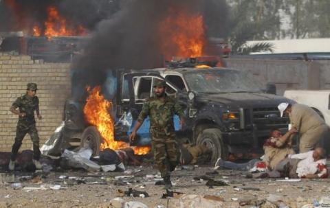 Подвійний теракт стався в Багдаді, є загиблі (1)