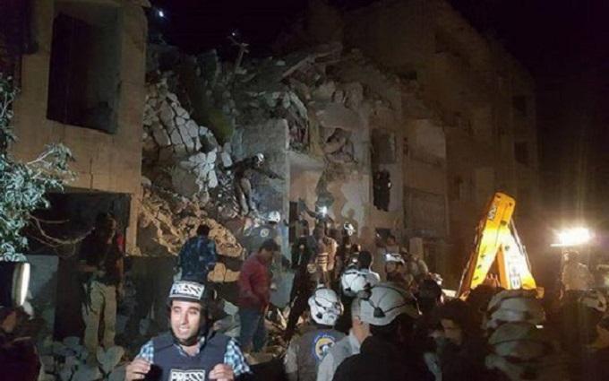 Російський авіаудар по сирійському місту вбив 23 людини: опубліковано відео