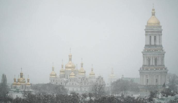В Киеве уже не будет сильных снегопадов
