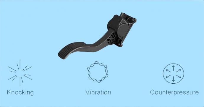 Компания Bosch представила интеллектуальную педаль акселератора