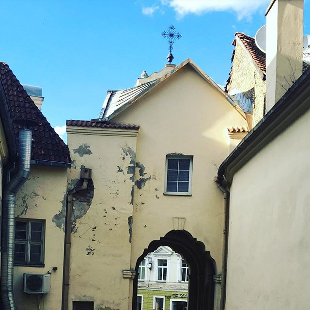 Джамала прогулялася Вільнюсом перед концертом: опубліковані фото і відео (3)