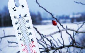 В Украине объявили штормовое предупреждение из-за морозов