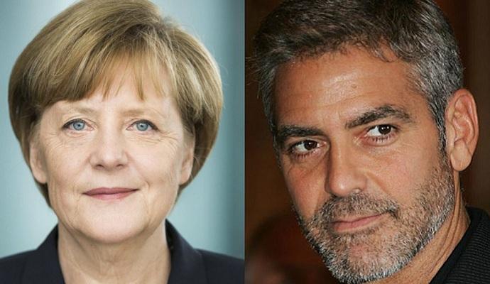 Меркель обсудила миграционный кризис с Джорджем Клуни