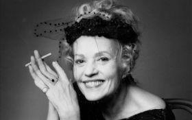 В Париже умерла легенда французского кино Жанна Моро: фильмография и фото