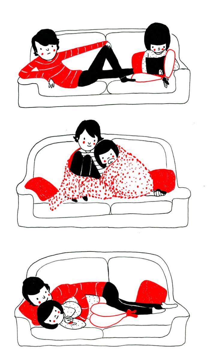 Как прекрасно быть вместе: веселые комиксы о семейной жизни (4)