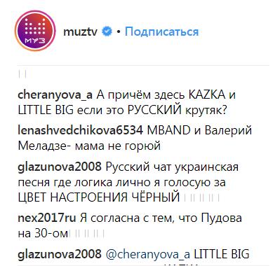 Перемога на полі бою: хіт українського гурту очолив російський музичний чарт (3)