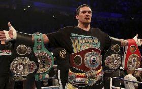 Усик попал в ТОП-3 лучших боксеров мира после эффектной победы над Беллью