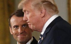 Я дозволяю йому гратися: Макрон різко відповів на критику Трампа