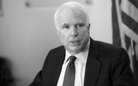 У США помер сенатор Джон Маккейн