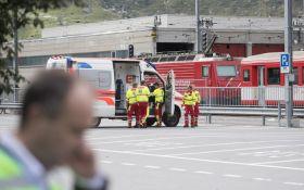 В Швейцарии столкнулись поезда, много пострадавших: появились фото