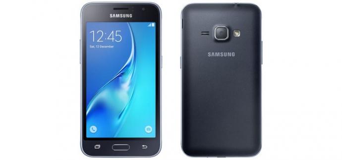 @evleaks опублікував рендер-знімки смартфона Samsung Galaxy J1 (2016)