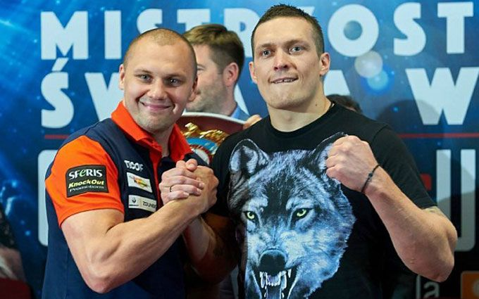 Усик - Гловацькі: прогноз букмекерів на чемпіонський бій