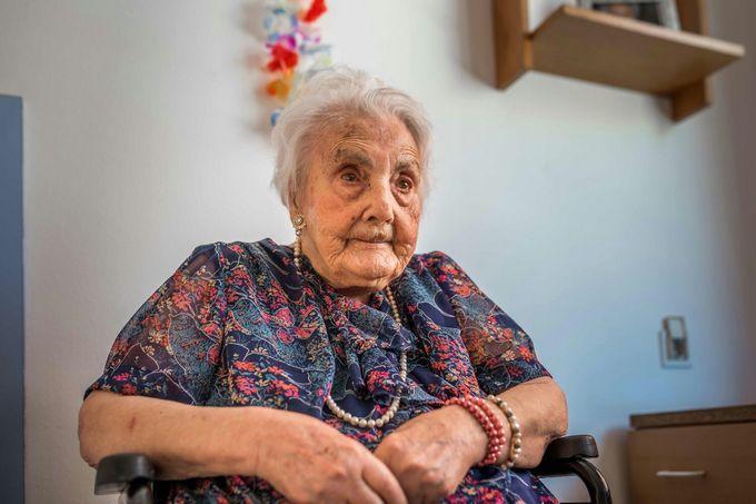 В Барселоне умерла старейшая жительница Европы