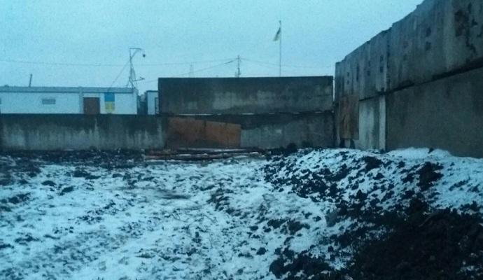 Госпогранслужба опубликовала видео обстрела пропускного пункта Марьинка