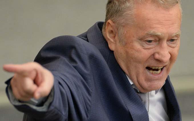Жириновський видав нову пропагандистську брехню про Україну та приплів Гітлера