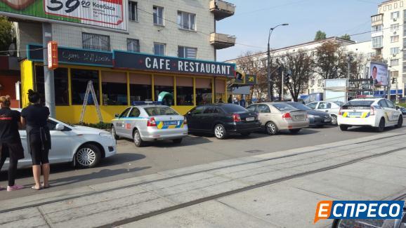 Стрілянина у Києві: опубліковані фото і відео з місця подій (2)