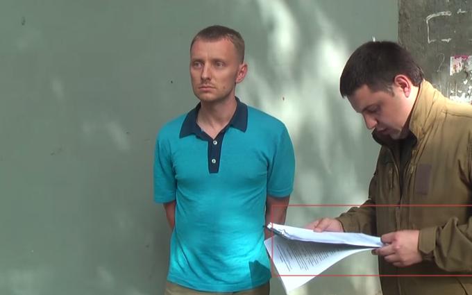 Затримання чиновника часів Януковича: опубліковане відео