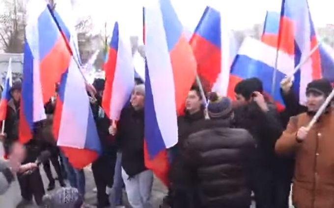 В России митингуют за оккупацию Крыма, ничего о нем не зная: опубликовано видео