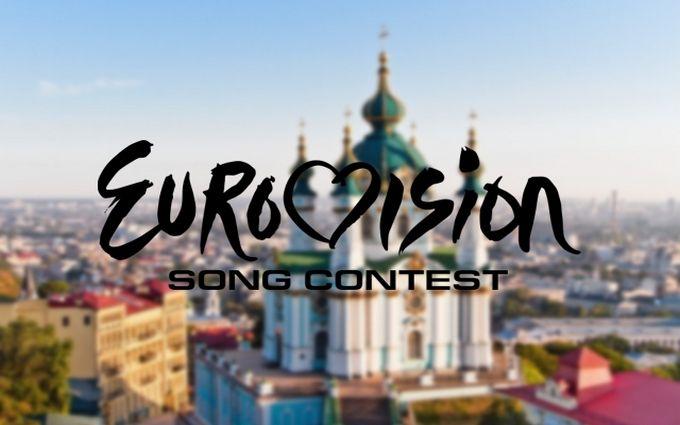 На Майдані Незалежності до Євробачення запустили світломузичні фонтани: опубліковано відео