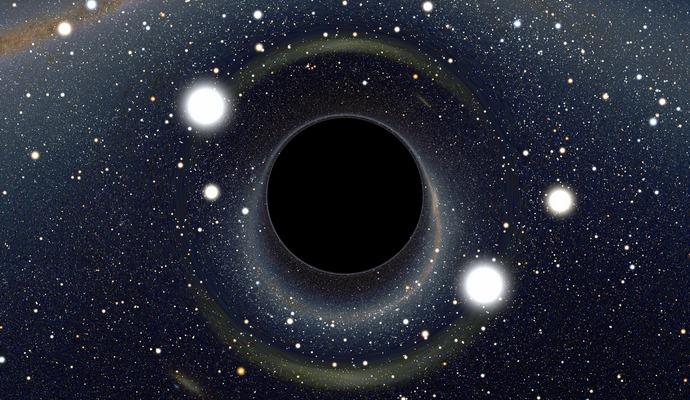 Что случится с человеком при попадании в черную дыру?