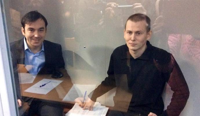 На суде ГРУшников Вера Савченко передала им слова сестры
