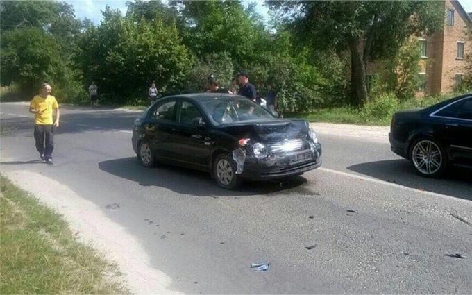 У Львові нетверезий водій збив патрульного і під час гонитви влаштував ще одне ДТП: опубліковані фото