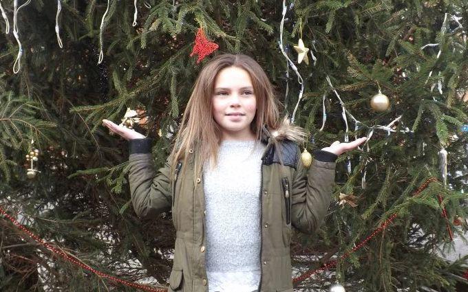 10-річна дівчинка влаштувала різдвяне диво для жителів міста: з'явилися фото