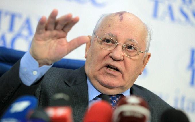 Марионетка перепуганная: соцсети возбудило заявление Горбачева