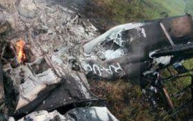 Возле Москвы разбился частный самолет: появились фото
