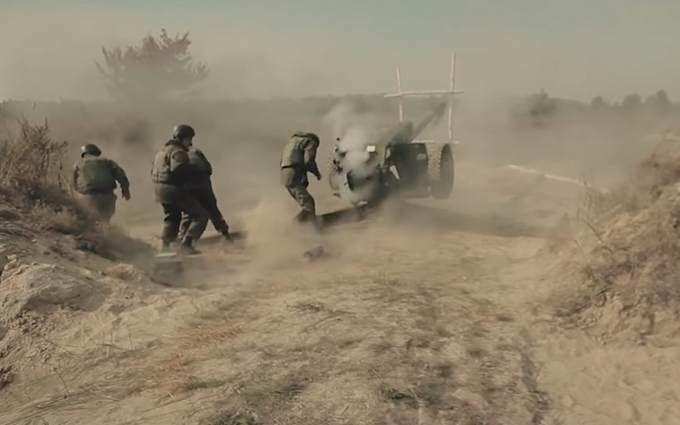 Гарматний постріл як він є: Нацгвардія виклала яскраве відео