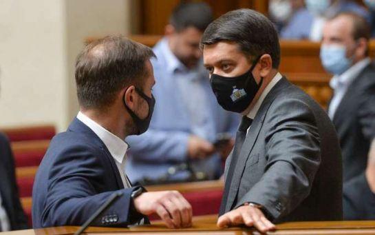 Отставки в Кабмине и роспуск парламента - Разумков выступил с важным заявлением