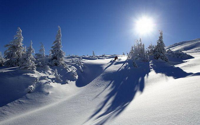 В Карпатах выпало рекордное количество снега