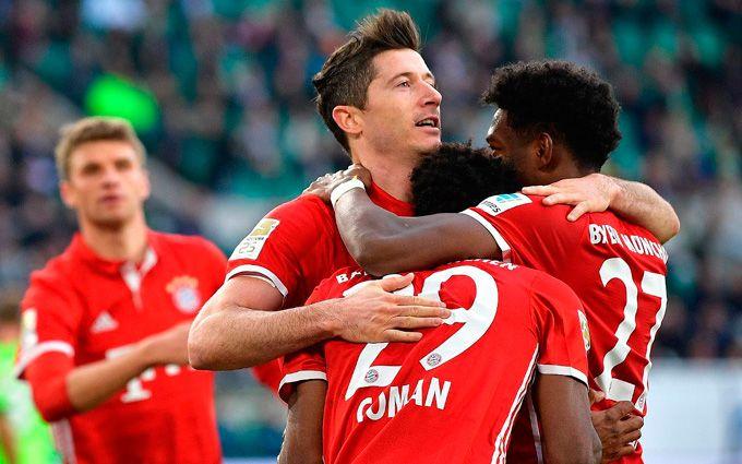 Бавария News: Вольфсбург Бавария 0-6 видео обзор матча 29.04.2017